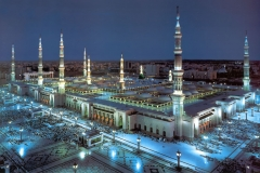 Poslanikova-džamija-u-Medini-ili-Al-Masjid-al-Nabawī